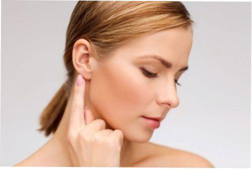 Точки уха человека